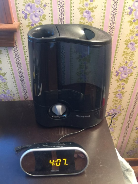 가습기($15) - 대용량이라 거실에서 사용 가능, 시계($15) - 알람, 라디오 기능