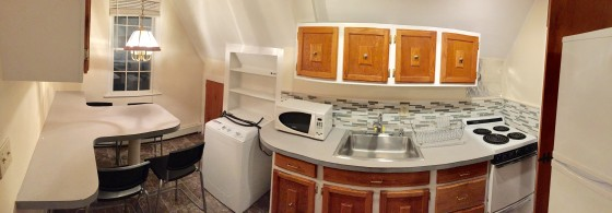 Kitchen (has island and all appliances)