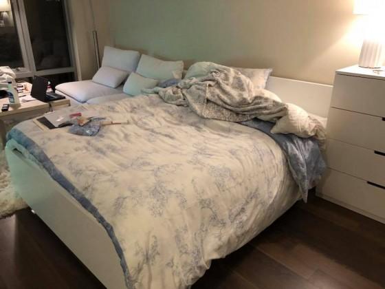 침대랑 매트리스 (퀸베드)