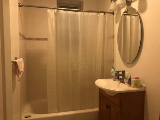 화장실이 매우 넓고 큽니다 아파트 자체가 새로 리모델링해서 기본적으로깨끗하고 벌레 쥐 같은거 안나옵니다.