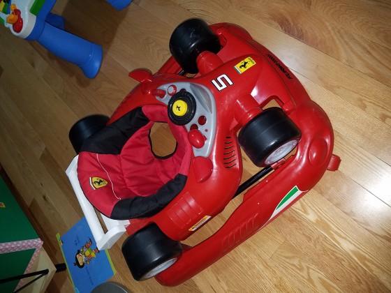 Combi Ferrari F1 Foldable Baby Walker $20